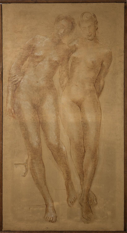 Les deux sœurs. ©KIK-IRPA, Bruxelles