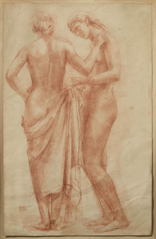 Nu de deux femmes. ©KIK-IRPA, Bruxelles