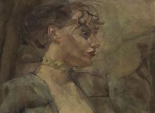 Portrait de Madeleine Dubois. ©KIK-IRPA, Bruxelles