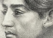 Portrait de Jiddu Krishnamurti. ©KIK-IRPA, Bruxelles
