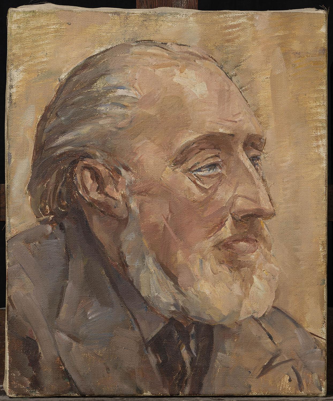 Portrait d'homme à la barbe blanche. ©KIK-IRPA, Bruxelles