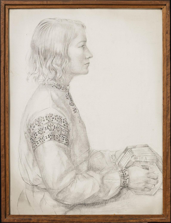 Portrait du peintre Laura Turner. ©KIK-IRPA, Bruxelles