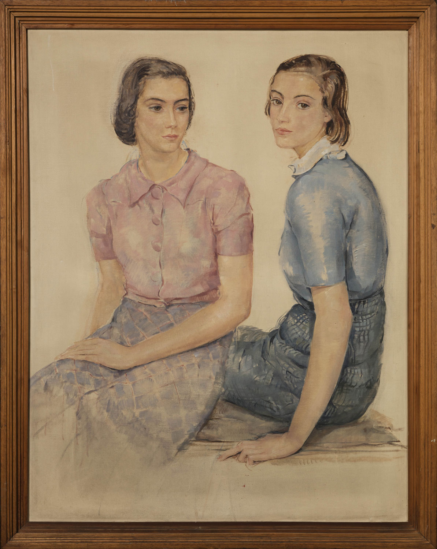 Deux jeunes filles. ©KIK-IRPA, Bruxelles