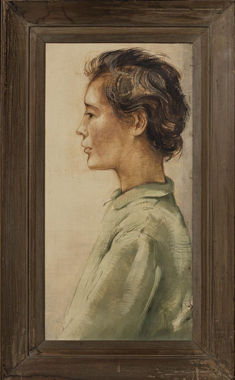 Femme à la veste verte. ©KIK-IRPA, Bruxelles