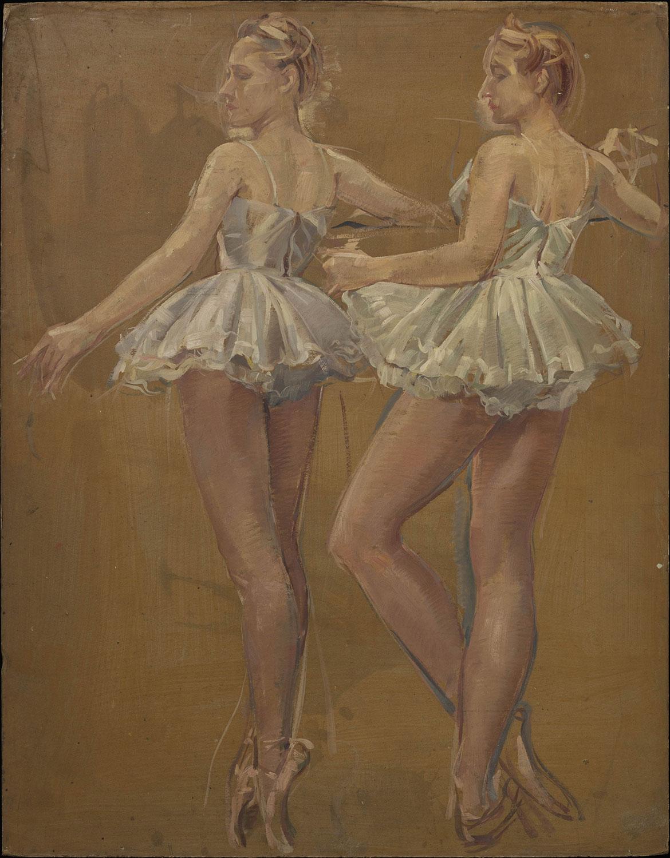 Deux ballerines. ©KIK-IRPA, Bruxelles