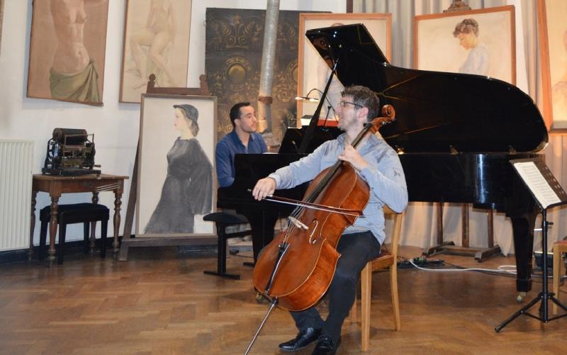 Wanneer vrienden musiceren –  Julien Beurms & Oded Hadar